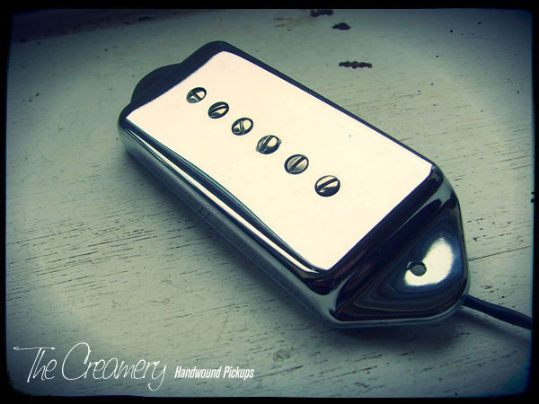 Creamery Custom Handwound Casino Replacement Pickup - Replacing stock Epiphone Casino Pickup