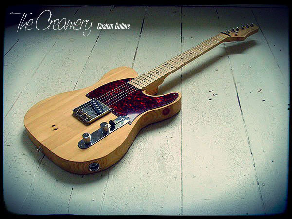 Creamery Custom Handmade Guitars - The Fencepost Esquire