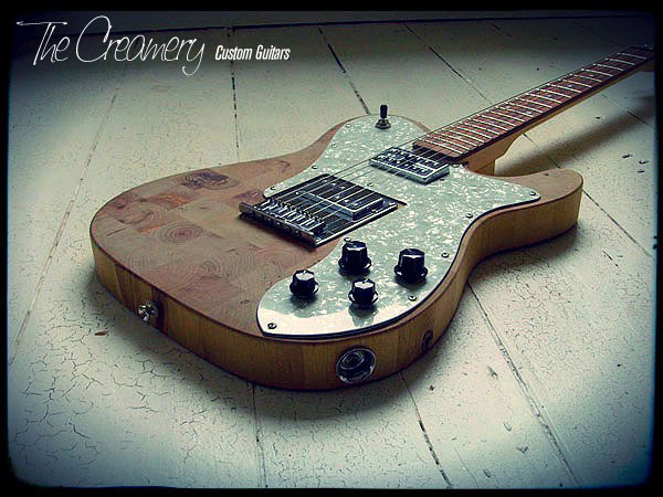 Creamery Custom Handmade Guitars - The Butchers Block Telecaster