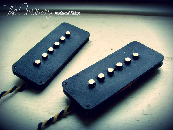 Creamery Custom Handwound Classic 58 Replacement Jazzmaster Pickups