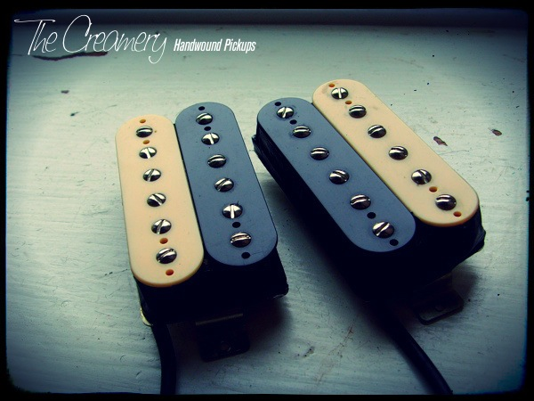 Creamery custom voiced, Handwound Alnico 8 Humbuckers