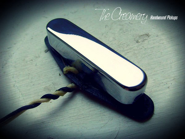 Creamery Custom Handwound Strat pickup for Tele neck position