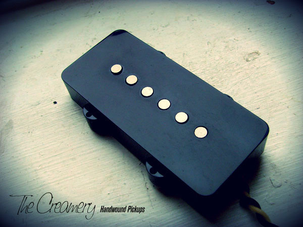 Creamery Custom Handwound Modern 58 Replacement Jazzmaster Pickups