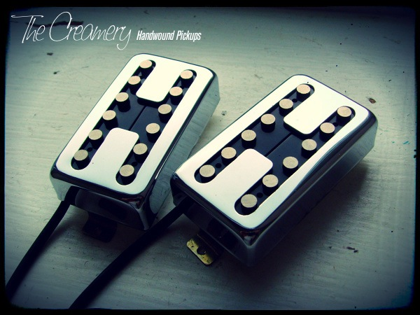 Creamery Custom 12-Pole Humbuckers for much more 'crunch' - True single coil tone when split