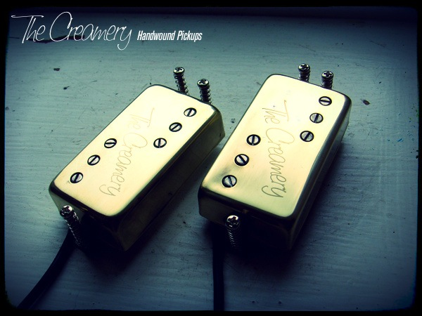 Creamery Custom Handwound Replacement Humbuckers for your 3-Hole Mount Pawn Shop, Select or Modern Player Guitar