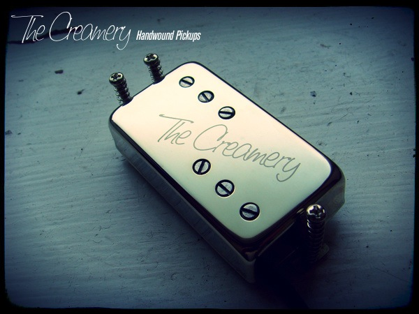 Creamery Custom Handwound Replacement Baby '71 Wide Range Humbucker for your 3-Hole Mount Pawn Shop, Select or Modern Player Guitar