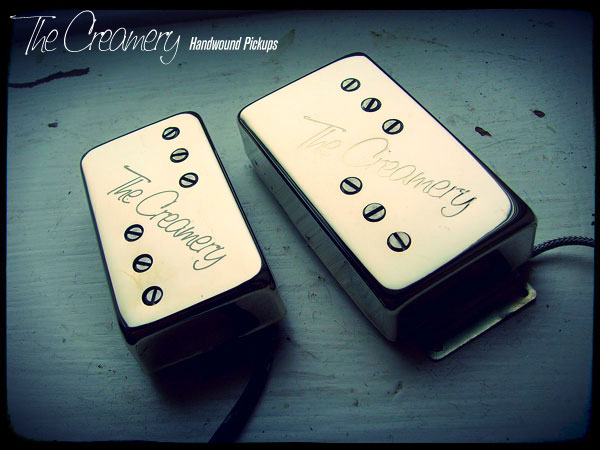 Creamery Custom Handwound Replacement Wide Range Humbucker Humbucking Pickups