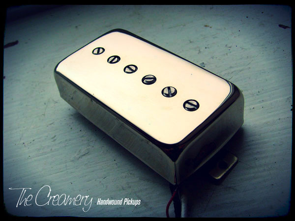 Creamery Custom Handwound Sonic-Six Single Coil Replacement Humbucker Pickups