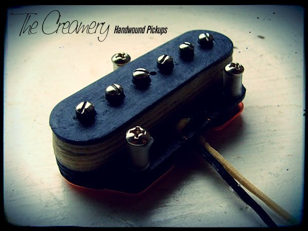 Creamery Custom Handwound Replacement Tele Telecaster Sized Tele-90 P90 Bridge Pickup
