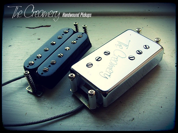 Creamery Custom Replacement Pickups for Fender Pawn Shop 72 Mustang - Bridge Neck Set