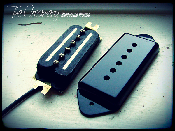 Creamery Hidden Humbucker for P90 Dogear