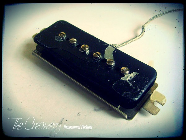 Creamery - Converting a P90 Dogear pickup to P90 Soapbar