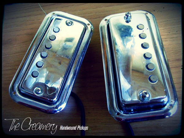 The Creamery Maton Mastersound Pickups upgrade to Wide Range Humbuckers