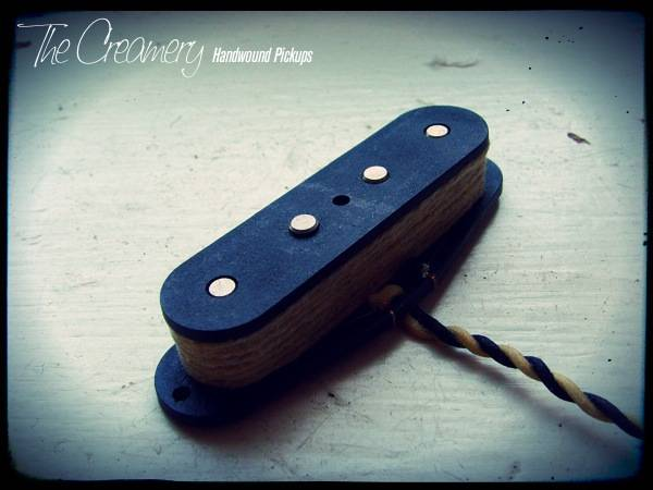 Creamery Custom Handwound Classic '52 Single-Coil Replacement Tele or Precision P-Bass Pickup