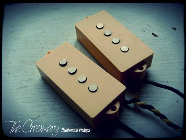 Creamery Custom Handwound Classic '58 Split-Coil Replacement Precision P-Bass Pickups