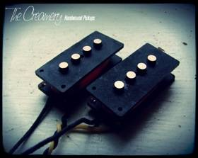 Creamery Custom Handwound Replacement P and J Precision and Jazz Bass Pickups