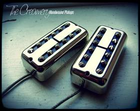 Creamery Custom Handwound Black Cat Replacement Filtertron Style Pickups