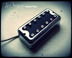 Creamery Handwound Filtertron Style Pickups - Classic Black Cat Pickup No Ears Mount