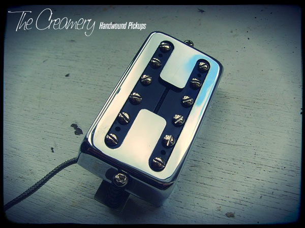 Creamery Custom Handwound Classic Black Cat Humbucker