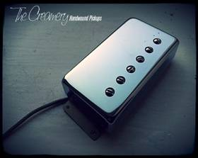 Creamery Replacement Wide Ramge Humbucker Pickups - Creamery Traditional '59 Humbucker in the Fender Wide Range Size