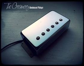 Creamery Replacement Wide Ramge Humbucker Pickups - Creamery Traditional '76 Humbucker in the Fender Wide Range Size