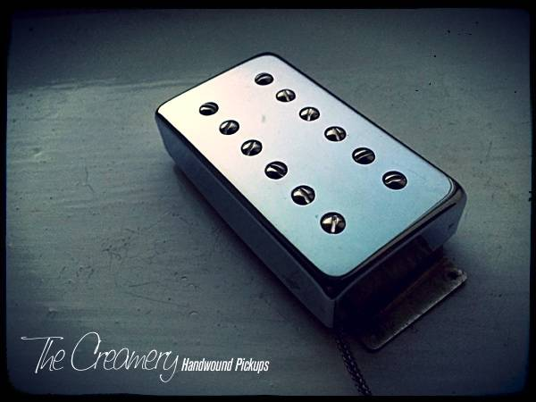 Creamery Replacement Wide Ramge Humbucker Pickups - Creamery Traditional '83 Humbucker in the Fender Wide Range Size
