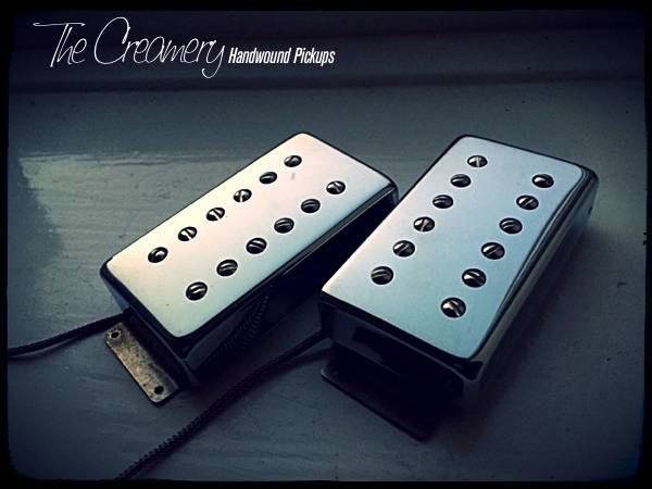 Creamery Custom Classic '83 - Hot, Hair Metal Humbucker Set - Fender Wide Range Size