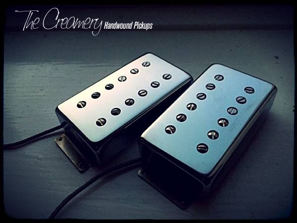 Creamery Custom '13 Humbucker Pickup Set - Fender Wide Range Size