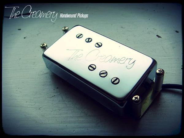 Creamery Custom Handwound Vintage, True Spec Replacement Wide Range Humbucker Pickup - Custom Made to the original '70s Design