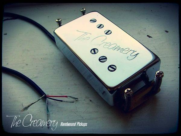 Creamery Custom Handwound Modern Wide Range Tele Thinline Deluxe Humbucker Replacement Pickup