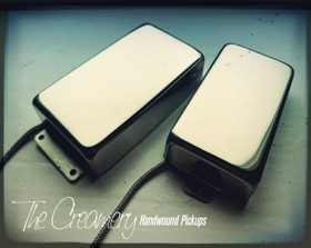 Creamery Custom Handwound Travis Bean Pickup in Wide Range Humbucker size