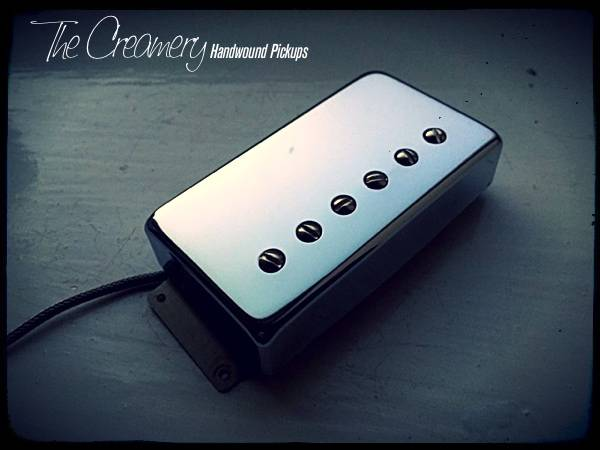 Creamery Replacement Wide Ramge Humbucker Pickups - Creamery Traditional Hot ALnico 8 Humbucker in the Fender Wide Range Size
