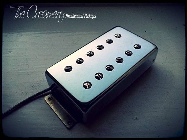 Creamery Replacement Wide Ramge Humbucker Pickups - Creamery Traditional Hot Double-Six Humbucker in the Fender Wide Range Size