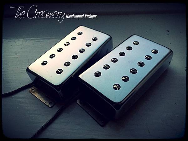 Creamery Replacement Double-Six High Output Humbucker Set - Fender Wide Range Size