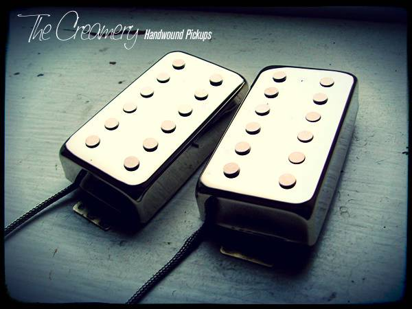 Creamery 12-Pole Humbuckers in Chrome 12-Hole Covers