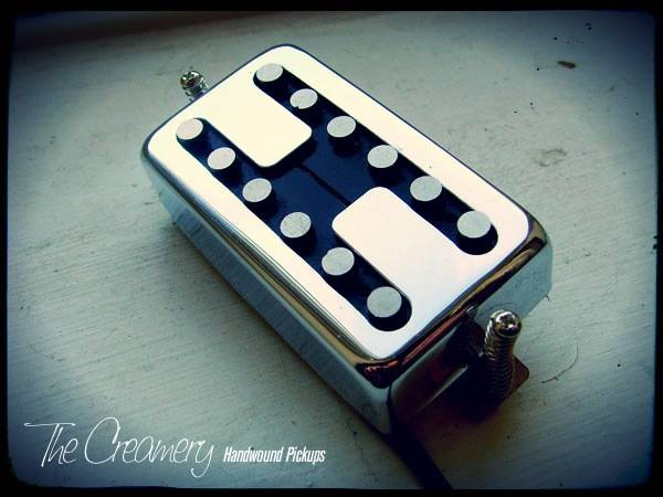 Creamery Custom Handwound Replacement 12-Pole Humbucker - Designed for True Single Coil Split