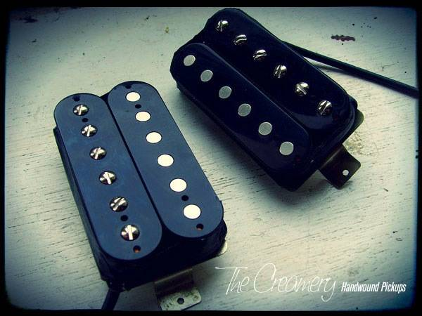 Creamery Custom Overwound Dirty Shirt Alnico 8 Humbucker Set
