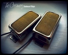 Creamery Custom Sweet 14 Gold Foil Pickup Gibson PAF Humbucker Size