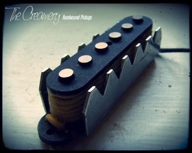 Creamery Custom Handwound Alt '88 Twin Sound Coil Tap Replacement Jaguar Pickups
