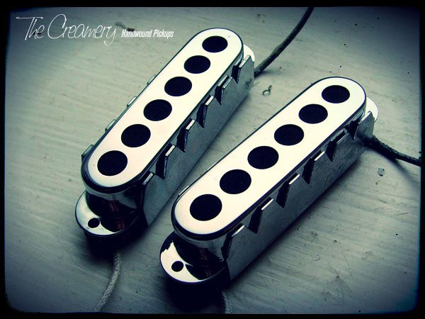 Creamery Custom Handwound Sonic '60 Jaguar Sized Tri-Sonic Style Replacement Jag Pickups