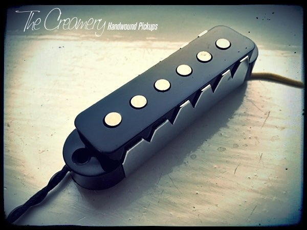 Creamery Custom Handwound Replacement Classic '64 Jaguar Pickup with Steel Claw