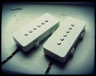 Creamery Custom Handwound Replacement Extra Width Jazzmaster Pickup Set - Warmer, Bluesier Tones