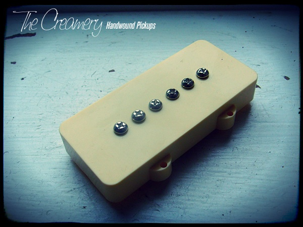 Creamery Custom Handwound Jazzmaster Mosrite Replacement Pickups
