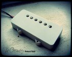 Creamery Custom Handwound True Humbucker Pickup for Jazzmaster - Jazzmaster Sized Humbucker