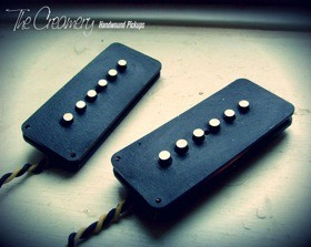 Creamery Custom Handwound Vintage and Modern Jazzmaster Replacement Pickups