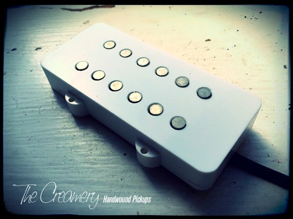 Creamery Custom 12-Pole Coil-Split Humbucker for Jazzmaster