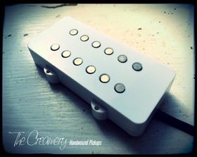 Creamery Custom Design Replacement Jazzmaster Pickup Upgrades - 12 Pole Humbucker designed for coil splitting