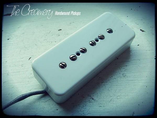 Creamery Custom Dark Star Higher Output P90 Pickup