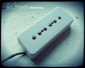 Creamery Custom Dark Star Higher Output P90 Soapbar or Dogear Pickup