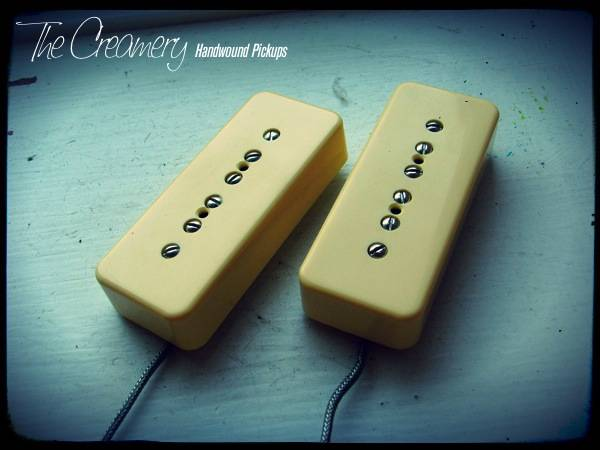 Creamery Custom Handwound Classic P90 Replacement Pickup Set